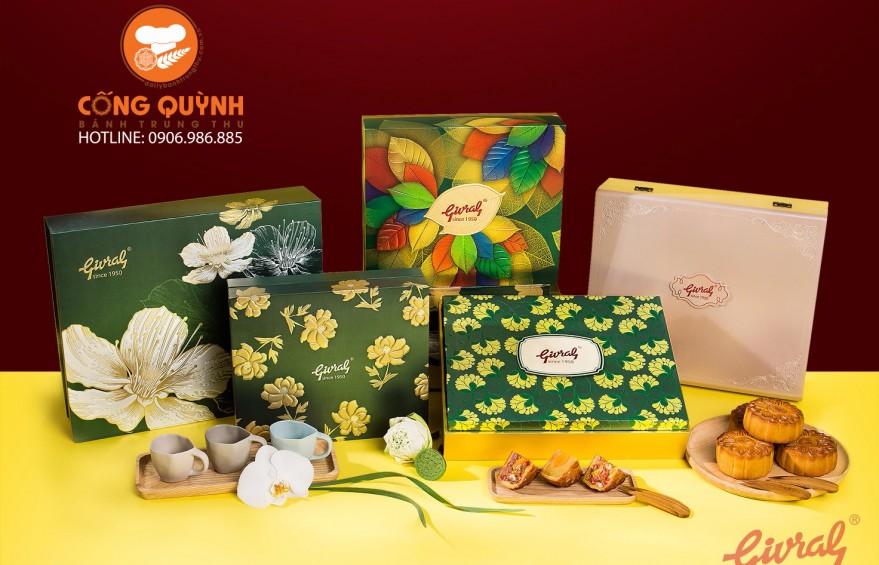 Hộp bánh trung thu Givral 2017