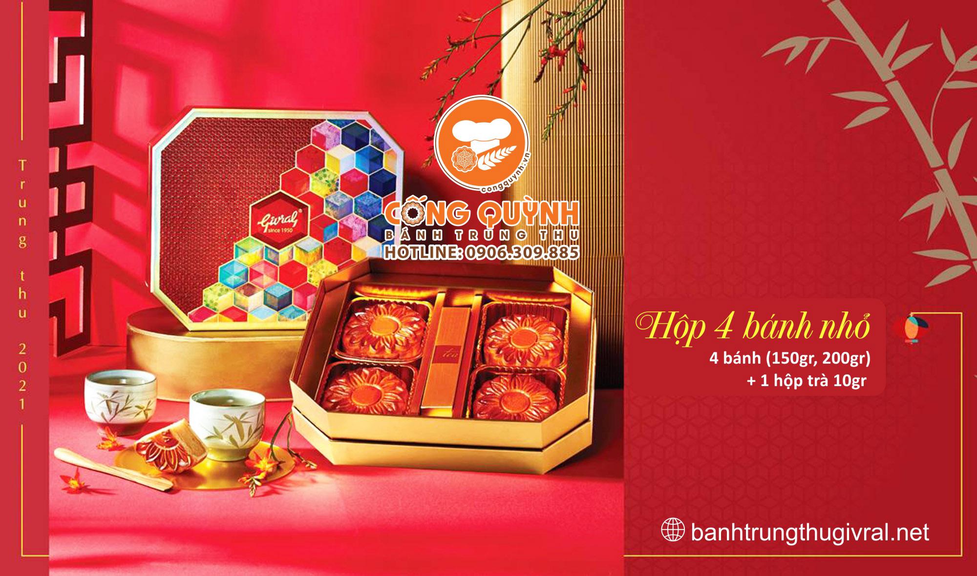 Banh Trung Thu_Givral_Hop 4 Banh_Detail